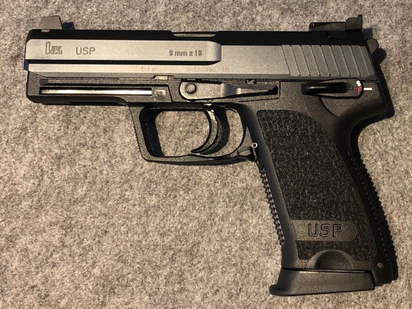 Heckler & Koch USP Custom Sport 9mm Luger