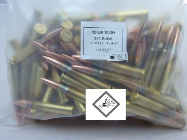 Prvi Partizan (PPU) - Kal. .303 British VM im Bulk Pack (100 Stück)