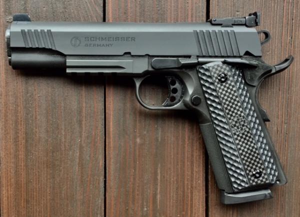 Schmeisser 1911er Hugo, Kal. 9mm Luger im Set