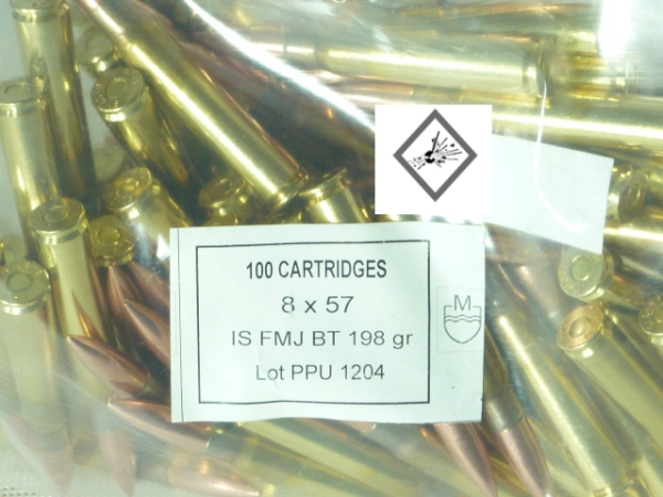 PPU 8x57IS 198grs VM Bulk Pack
