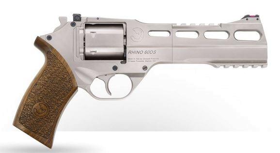 Lagerabverkauf! Chiappa Rhino 60DS Nickel, .357 Magnum