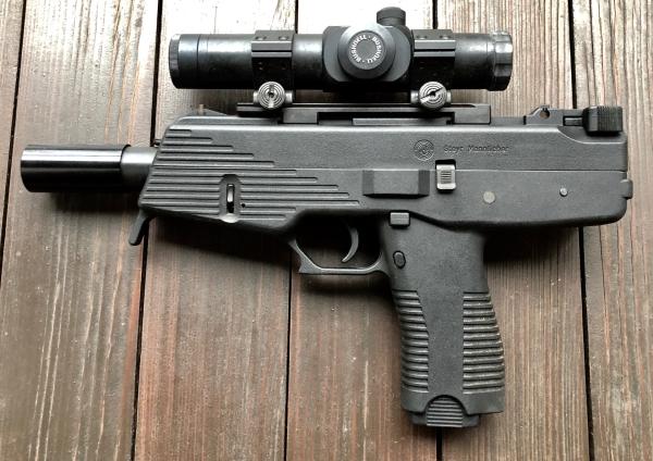 Steyr SPP 9mm Luger mit Zubehör, neuwertig