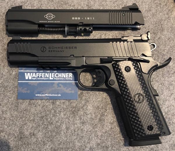 Schmeisser 1911 Hugo 9mm Luger mit WS GSG-1911