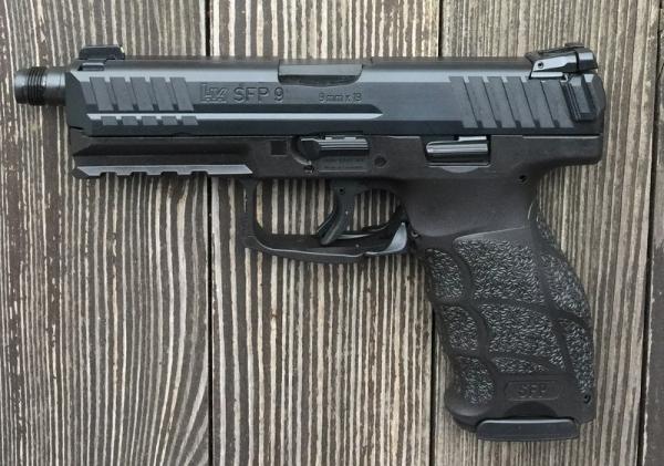 Heckler & Koch - SFP9 Tactical Kal. 9mm Luger