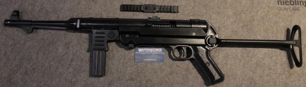 GSG-MP40, Kal. 9mm Luger mit Picatinny-Schiene