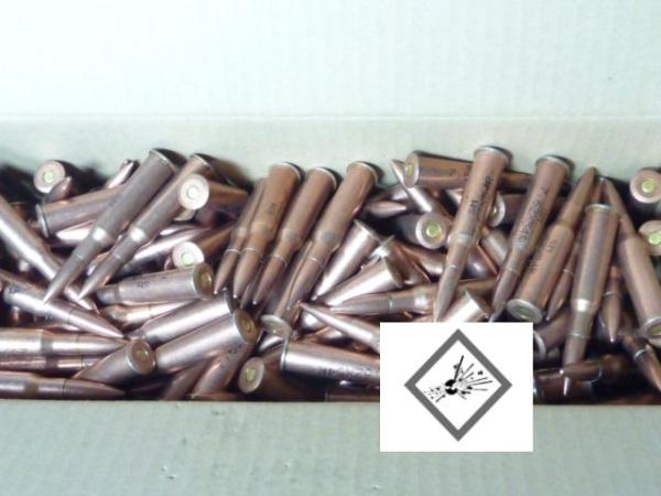 PRC - 7,62x54 R VM (148grs) verkupfert (300 Stück)