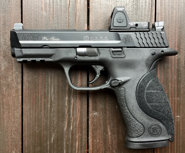 S&W M&P9 C.O.R.E Pro Series, 9mm Luger, Vorführwaffe