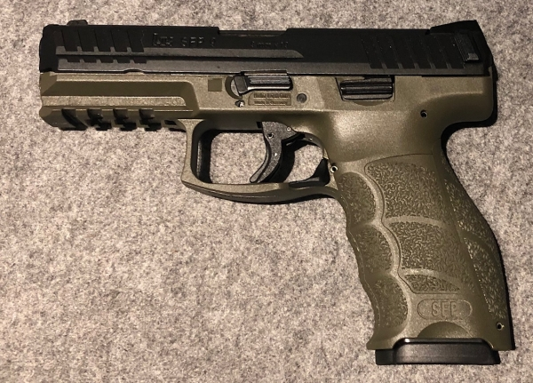 Heckler & Koch SFP9 O.D green