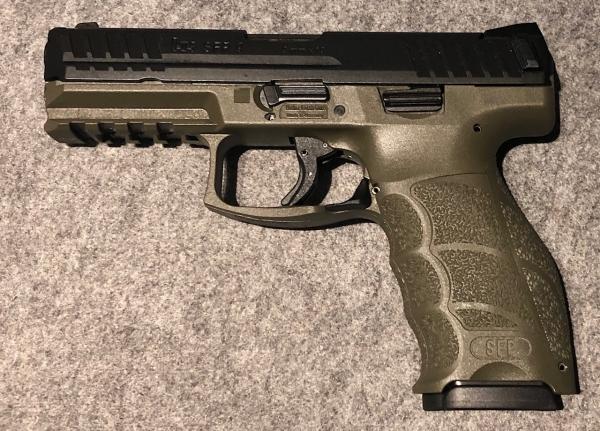 Heckler & Koch SFP9 O.D green Vorführwaffe