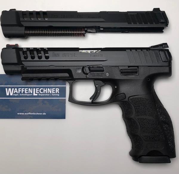 Heckler & Koch - SFP9L PB mit WS SFP9L-OR, Kal. 9mm Luger