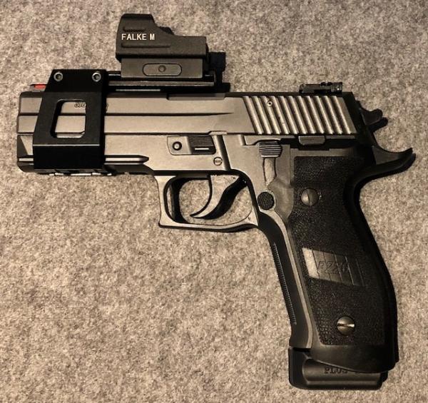 SIG Sauer P226 LDC II Tacops, 9mm Luger u. WL-Montage