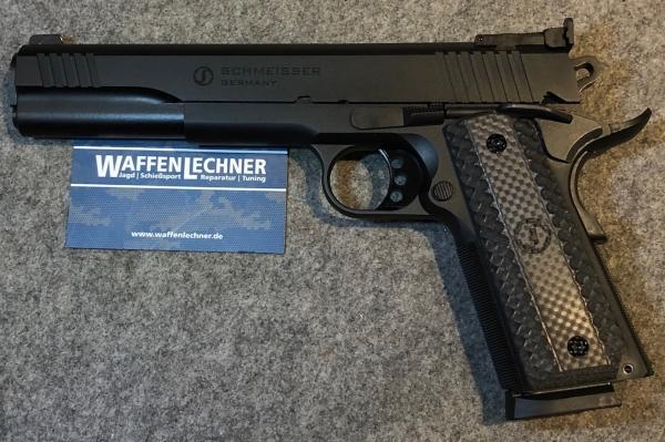 """Schmeisser 1911 Hugo 6"""", Kal. .9mm Luger"""