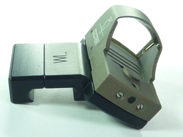 Waffen Lechner - Winkelmontage Weaver-/Picatinny für Docter Sight