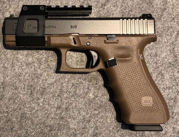 WL-Glock-Montage für Glock mit Picatinny