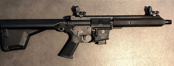 Schmeisser AR15-9 Sport, Kal. 9mm Luger