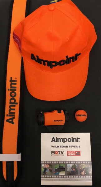 Aimpoint Micro H-2 2 MOA, Sonderedition orange