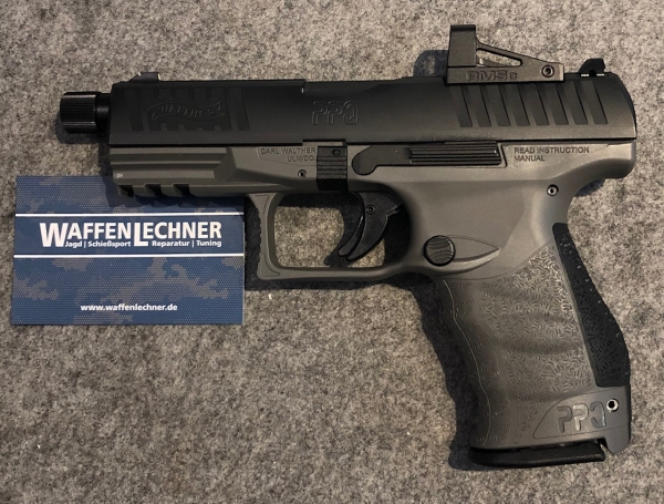 Walther PPQ M2 Q4 Tac Combo, 9mm Luger