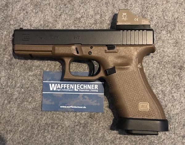 Glock 17 flat dark earth, 9mm Luger