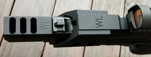 WL Kompensator für HK USP Tactical u. HK45 Tactical