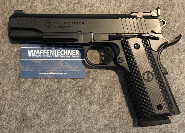 Schmeisser 1911 Hugo 9mm Luger im Set