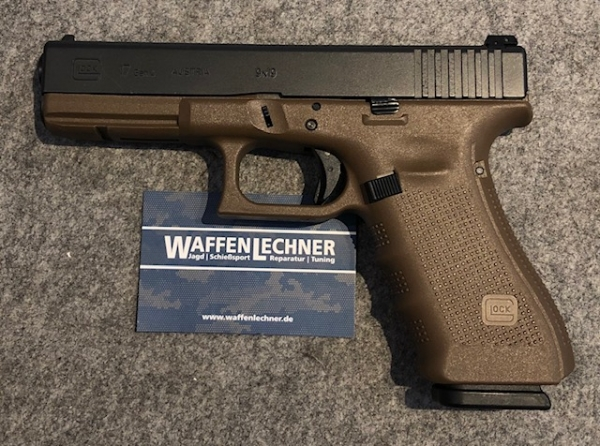 Glock 17 flatdark earth, 9mm Luger