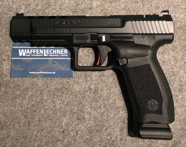 Canik TP9 SFx schwarz, 9mm Luger, Optics ready