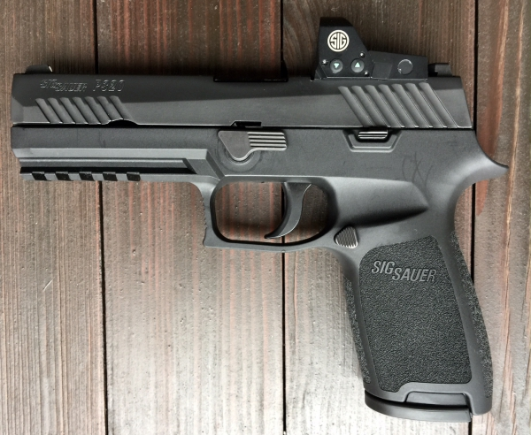 SIG Sauer P320 mit Romeo1, Kal. 9mm Luger
