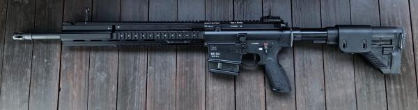 """Heckler & Koch MR308-28 A3, 20"""" schwarz"""
