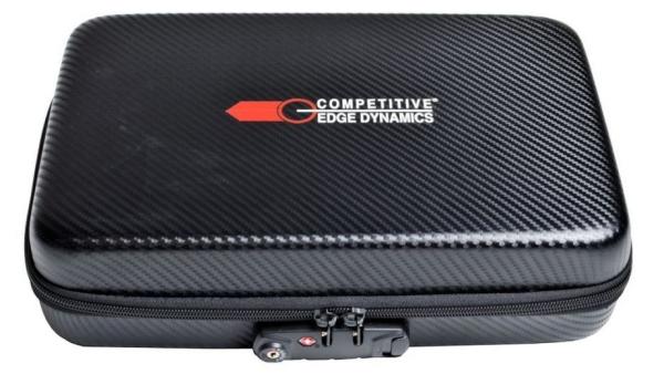 Carbon Fiber EVA Pistol Case