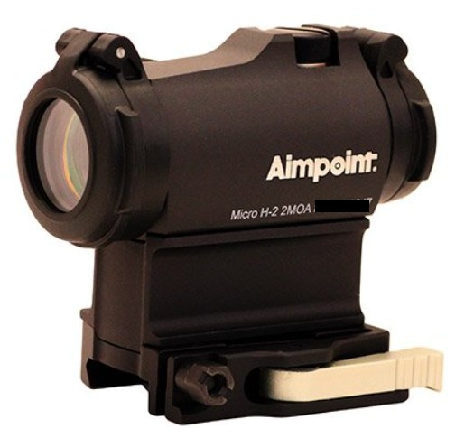 Aimpoint Micro H-2 2 MOA mit 39mm Spacer LRP