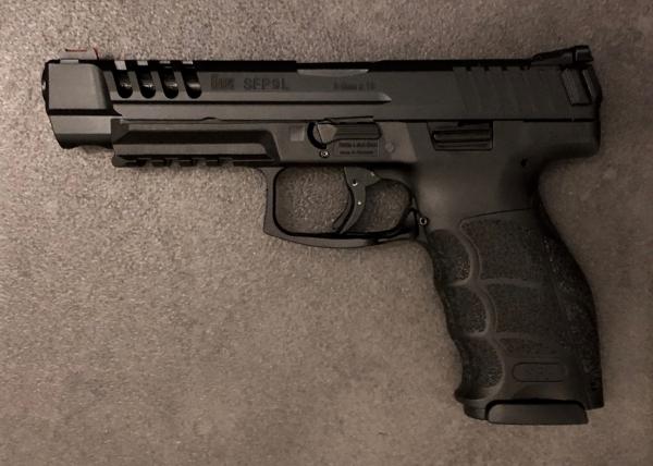 Heckler & Koch SFP9 L schwarz