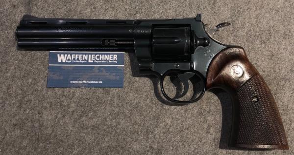 """Colt Python 6"""" brüniert, Kal. .357 Mag."""