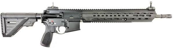 """Heckler & Koch - MR223 A3, 16,5"""" Slim-Line lang, Kaliber .223 Rem., schwarz"""