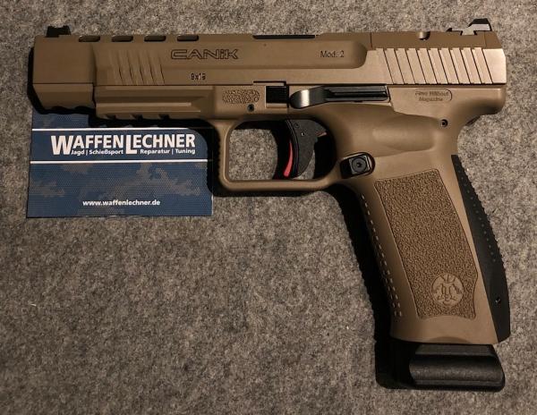 Canik TP9 SFx FDE, 9mm Luger, Optics ready